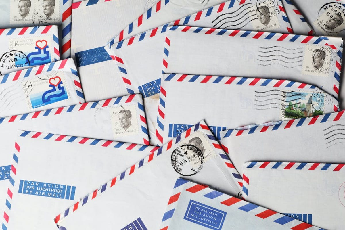envelopes containing discovery requests